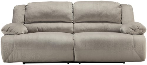 Signature Design by Ashley Toletta - Granite Casual Contemporary 2 Seat Reclining Power Sofa