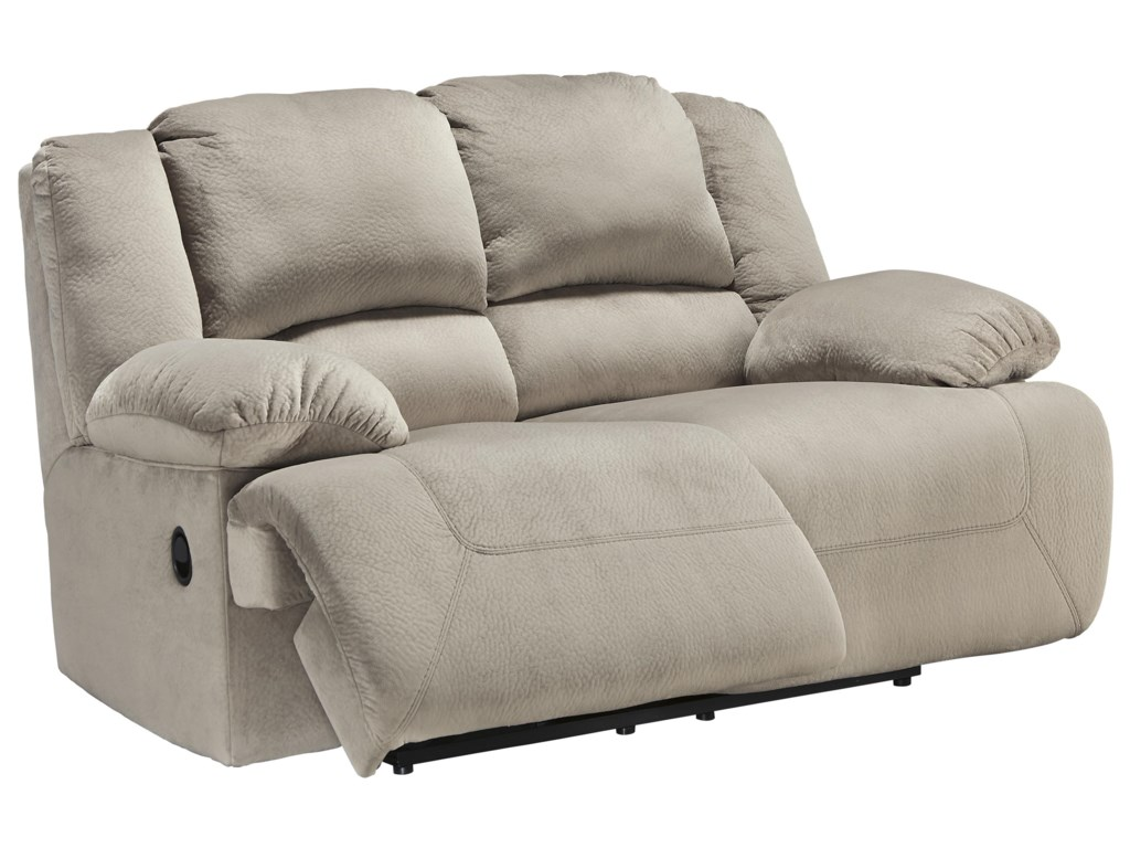 Signature Design by Ashley Toletta - GraniteReclining Power Loveseat