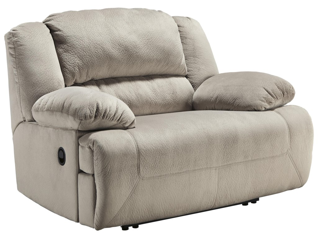 Signature Design by Ashley Toletta - GraniteWide Seat Power Recliner