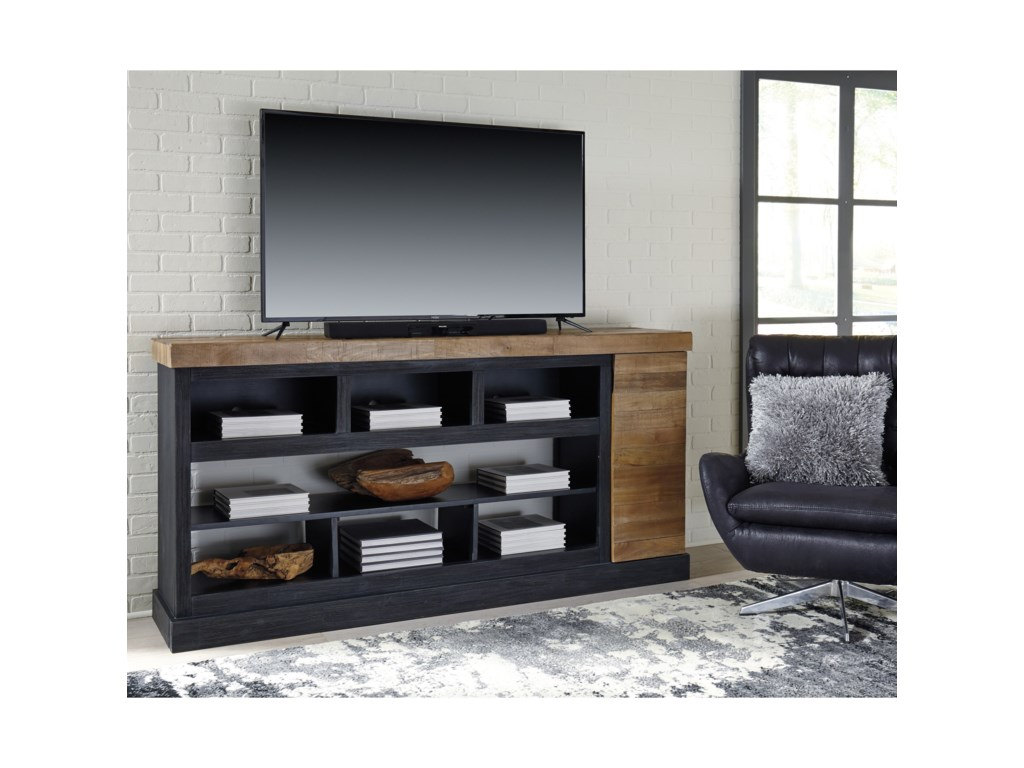 Signature Design by Ashley TonnariXL TV Stand