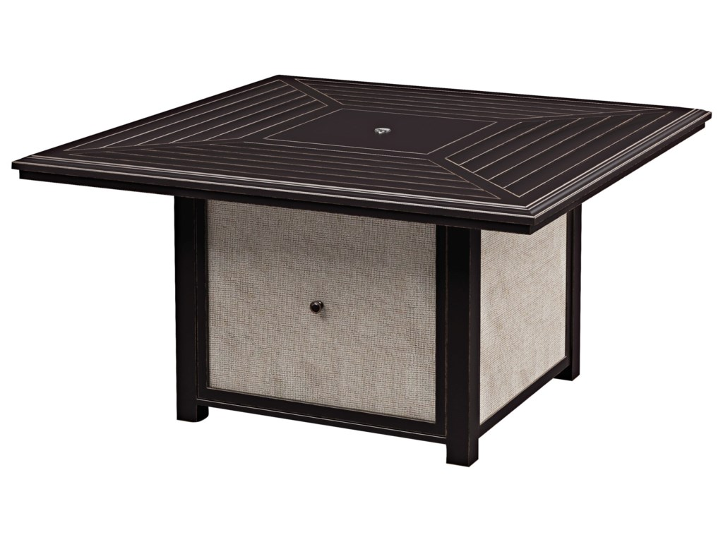 Signature Design by Ashley Town CourtSquare Fire Pit Table
