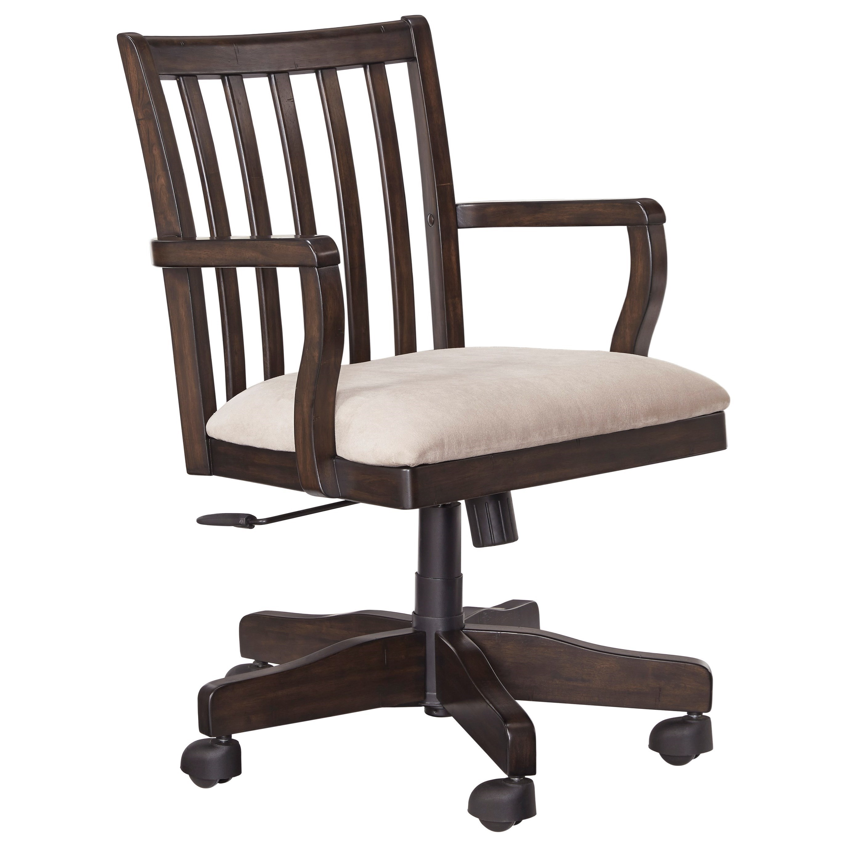 Amazing Signature Design By Ashley TownserHome Office Swivel Desk Chair ...