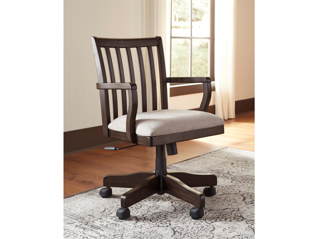 Signature Design by Ashley TownserHome Office Swivel Desk Chair