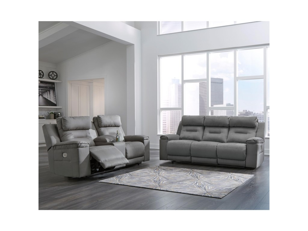 Signature Design by Ashley TramptonReclining Living Room Group