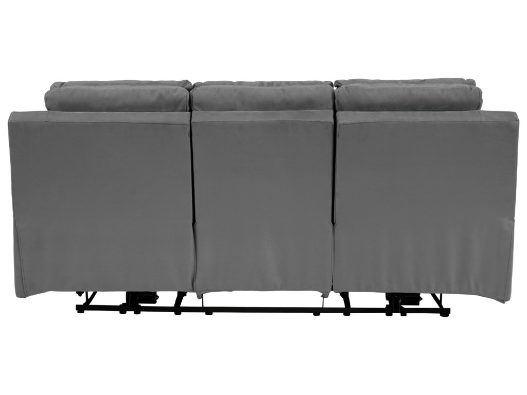 Signature Design by Ashley TramptonPower Reclining Sofa w/ Adjustable Headrest