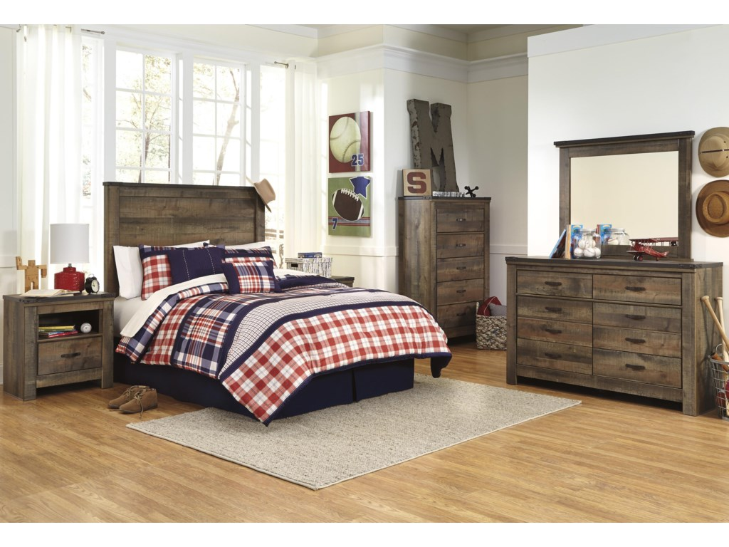 Vickers Full Bedroom Group By Signature Design Ashley