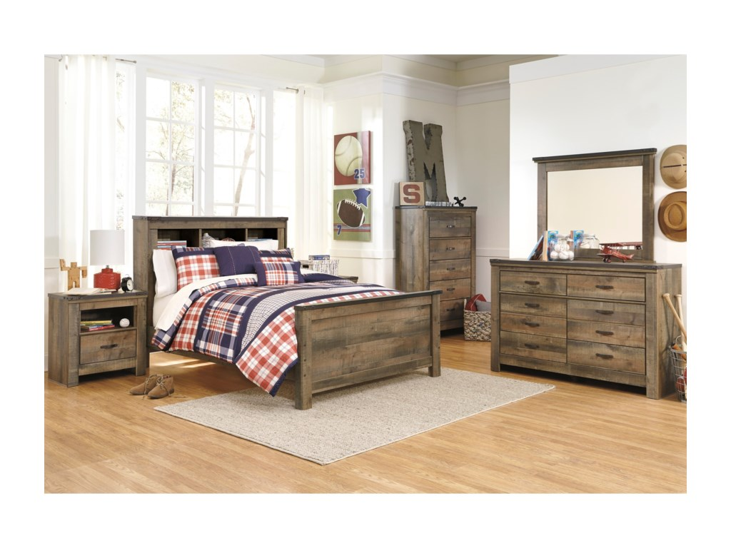 Signature Design by Ashley TrinellFull Bedroom Group