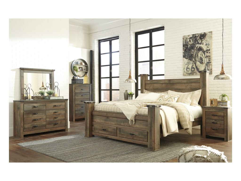Ashley (Signature Design) TrinellKing Bedroom Group