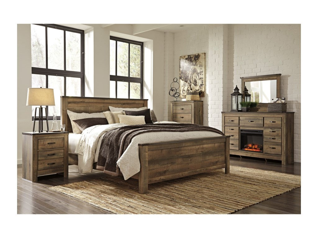 Signature Design by Ashley TrinellKing Bedroom Group