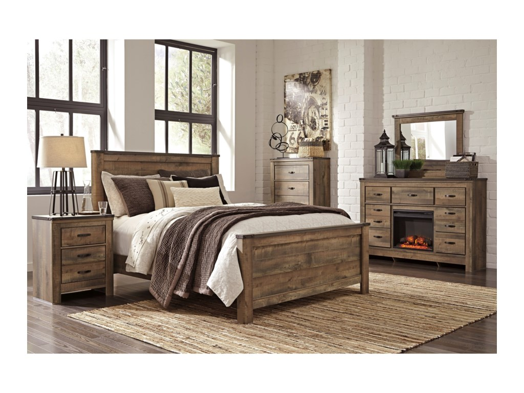 Signature Design by Ashley VickersQueen Bedroom Group