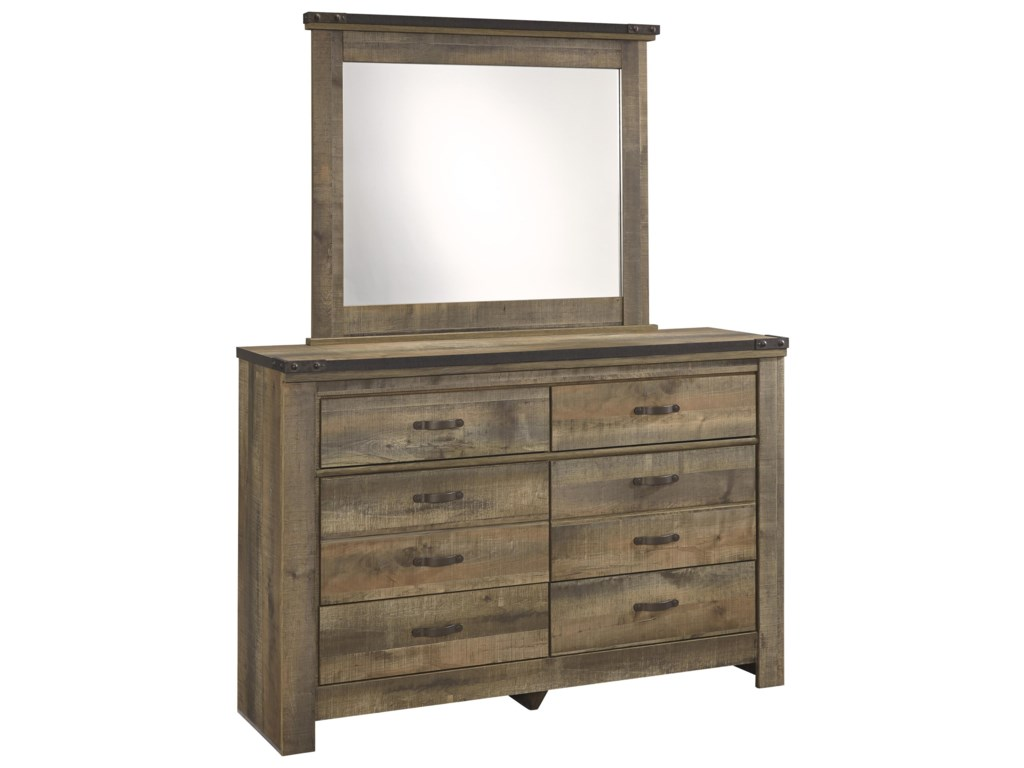 Signature Design by Ashley VickersYouth Dresser & Bedroom Mirror