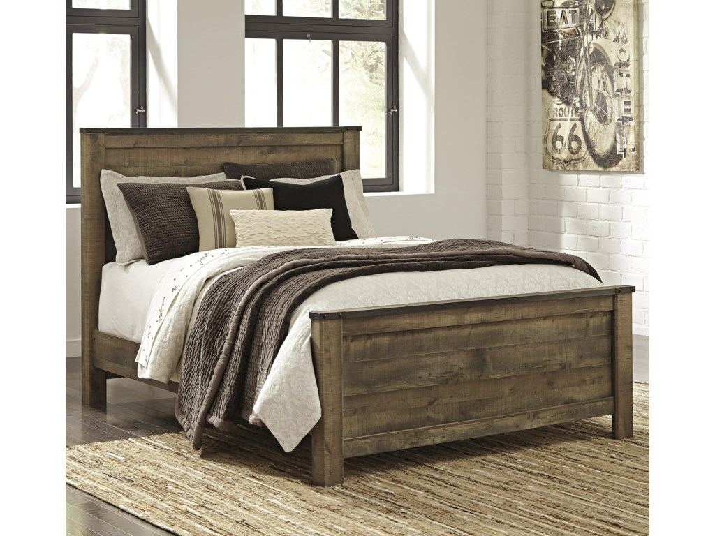 Signature Design by Ashley TrinellQueen Panel Bed