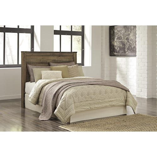 Signature Design By Ashley Trinell B446 57 Queen Panel Headboard Northeast Factory Direct