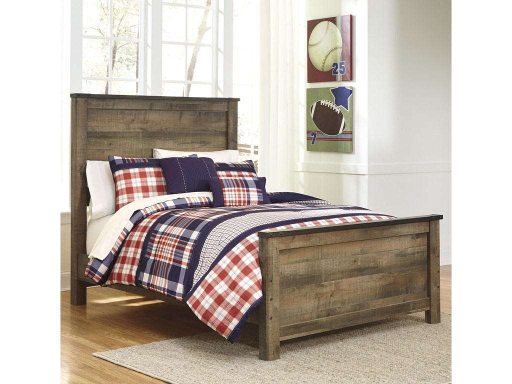 Signature Design by Ashley TrinellFull Panel Bed