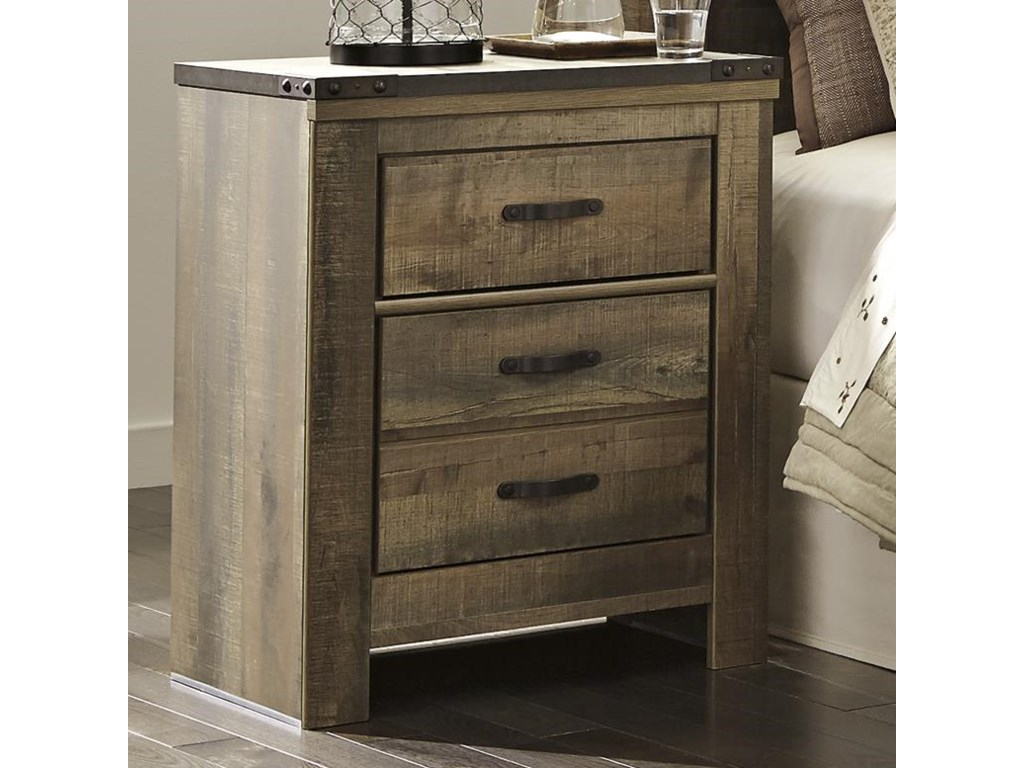 Signature Design by Ashley Trinell2-Drawer Nightstand