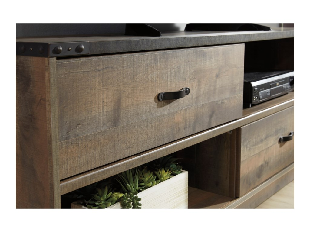 Signature Design by Ashley TrinellLarge TV Stand