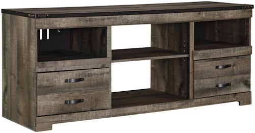 Signature Design By Ashley Trinell W446 68 Large Tv Stand
