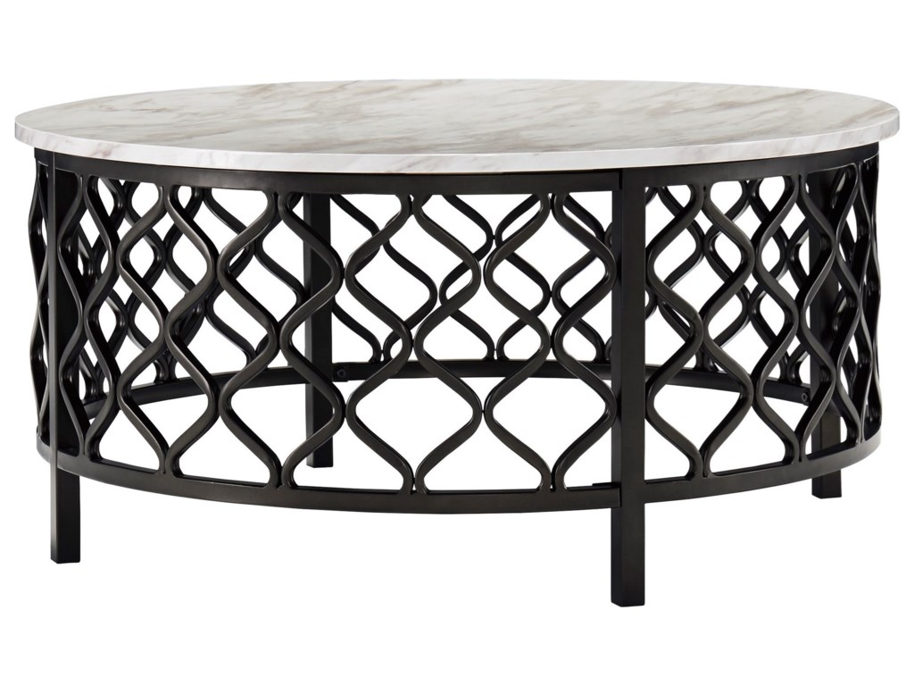 Signature Design by Ashley TrinsonRound Cocktail Table