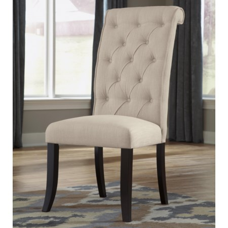 Pair of Dining Upholstered Side Chair