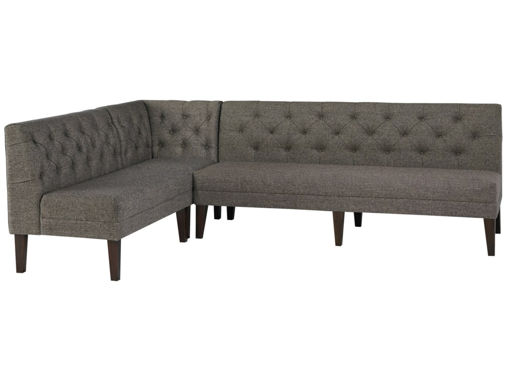 Signature Design by Ashley Tripton 3-Piece Upholstered Banquette Set on commercial soft seating bench, modern leather bench, waiting bench, high back bench, entry bench, french country bench, built in breakfast bench, dining bench, settee bench, spring bench, diy breakfast nook bench, baxton studio bench,