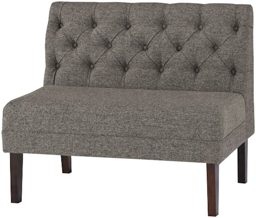 Signature Design by Ashley Tripton Large Upholstered Dining Room Bench