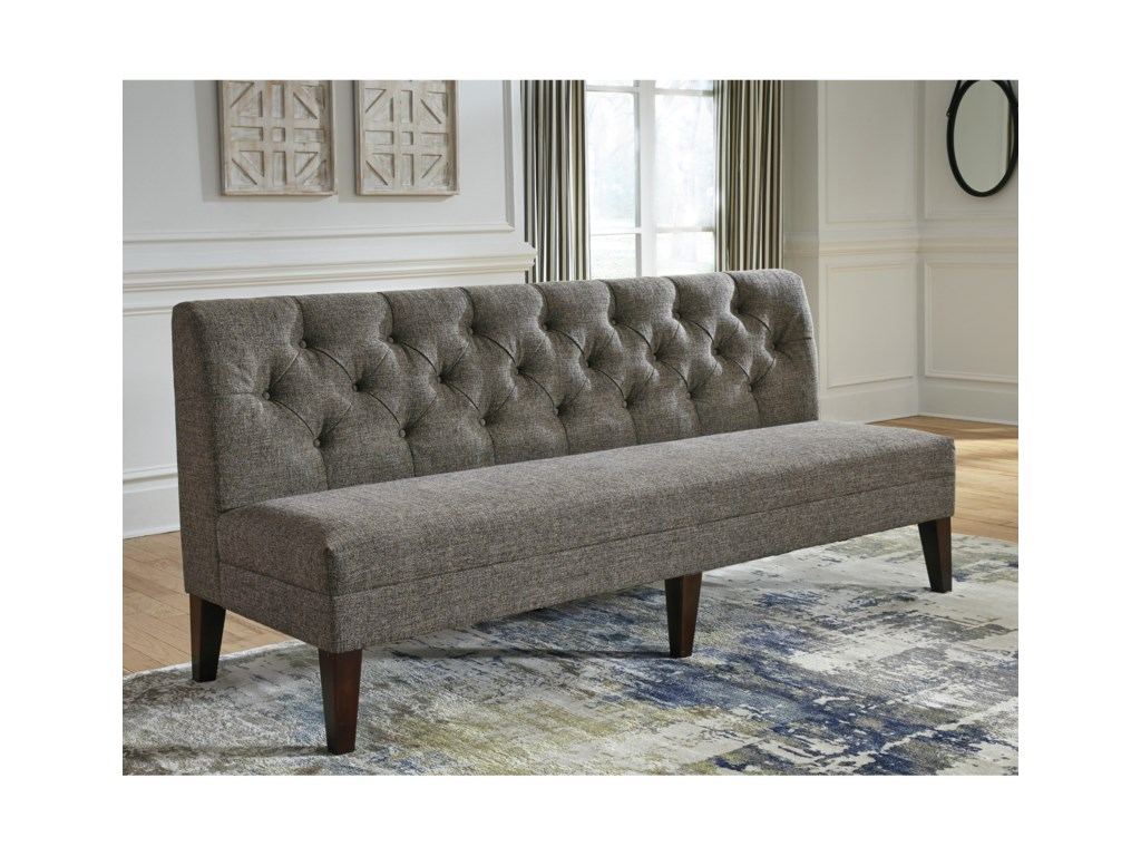 Tripton Extra Large Upholstered Dining Room Bench