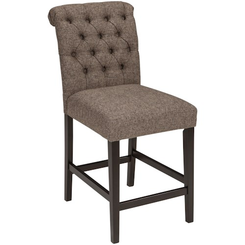 Signature Design By Ashley Tripton Upholstered Barstool In