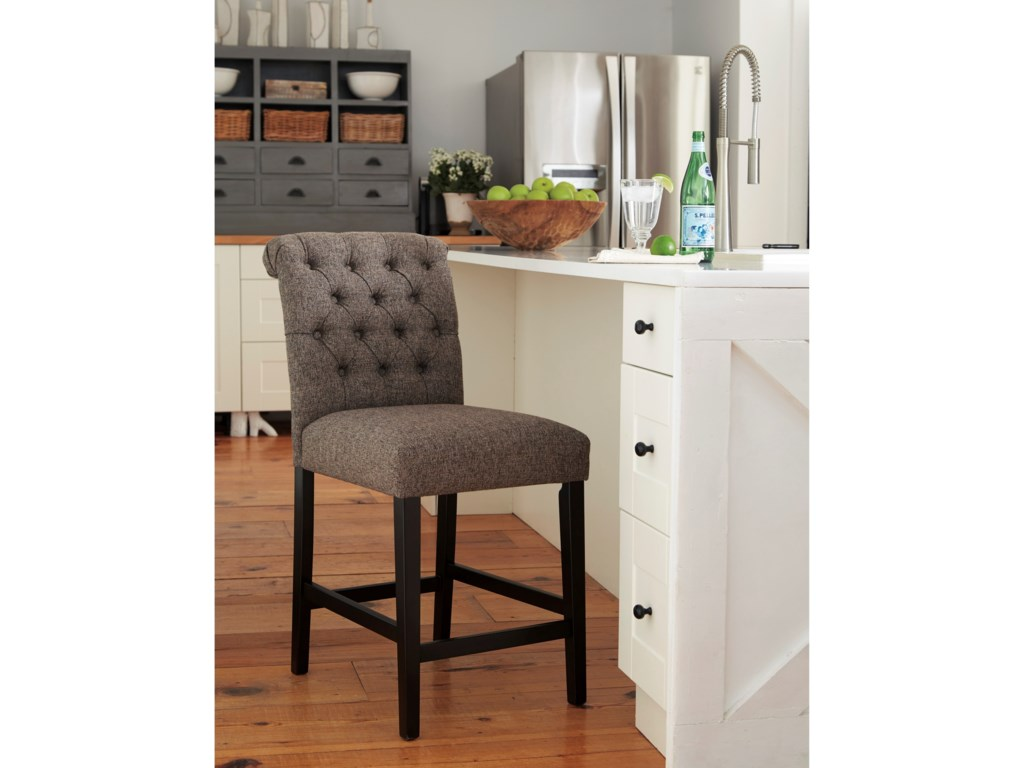 Signature Design by Ashley TriptonUpholstered Barstool