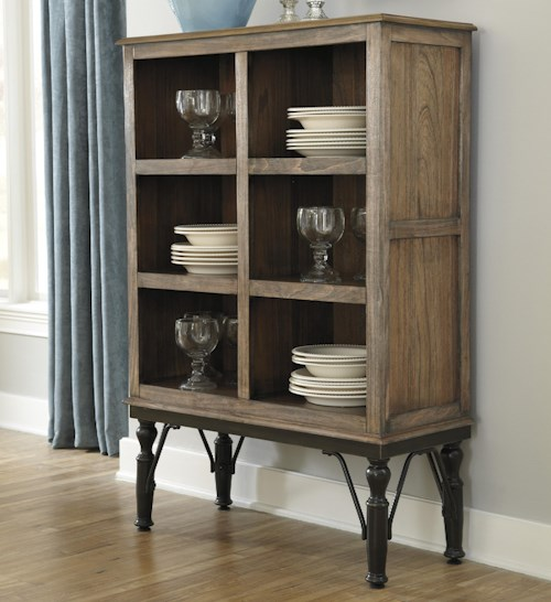 Signature Design By Ashley Tripton Medium Rustic Brown Tall Dining Room Server Furniture