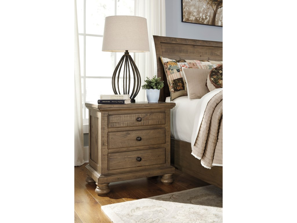Ashley (Signature Design) TrishleyThree Drawer Night Stand