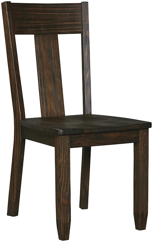Signature Design by Ashley Trudell Solid Wood Pine Dining Room Side Chair