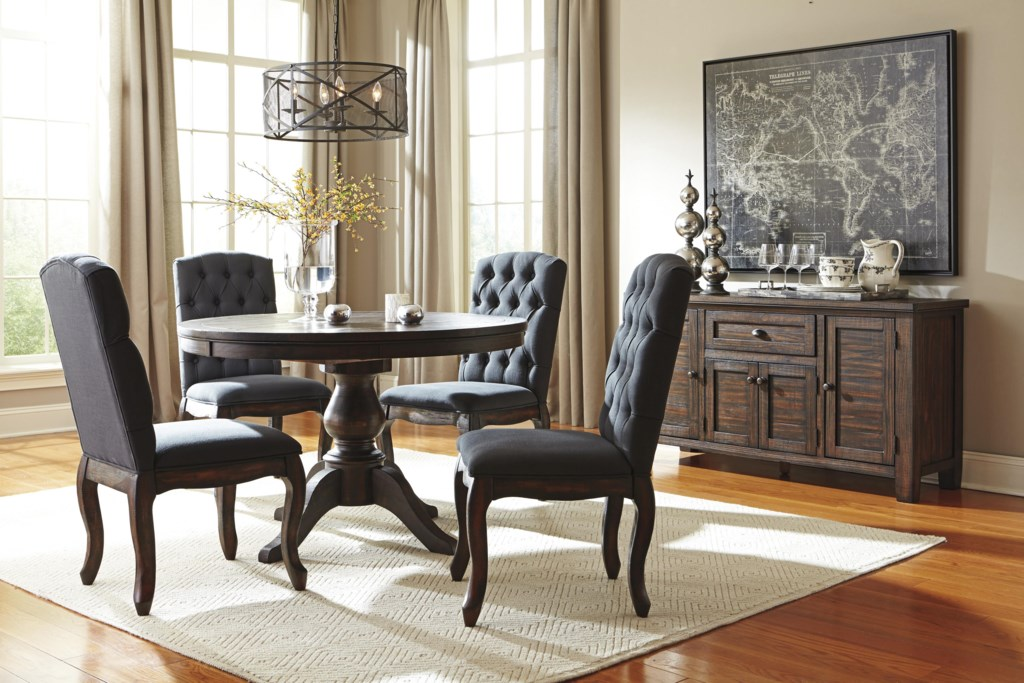 Signature Design By Ashley Trudell Dining Upholstered Side Chair