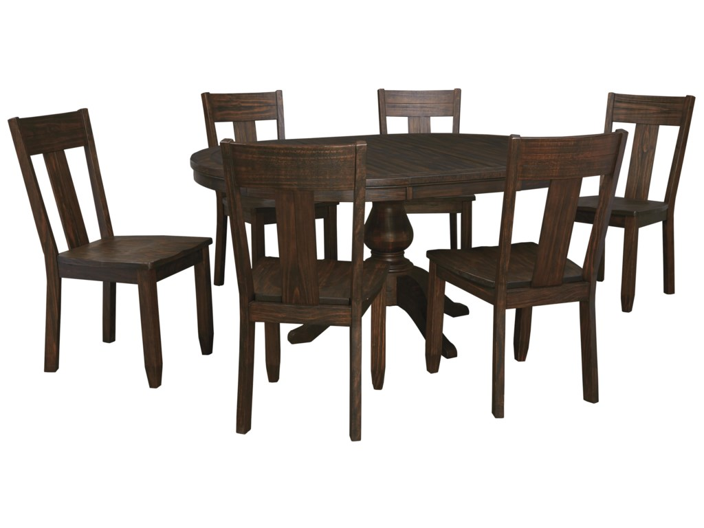 Signature Design by Ashley Trudell7-Piece Oval Dining Table Set