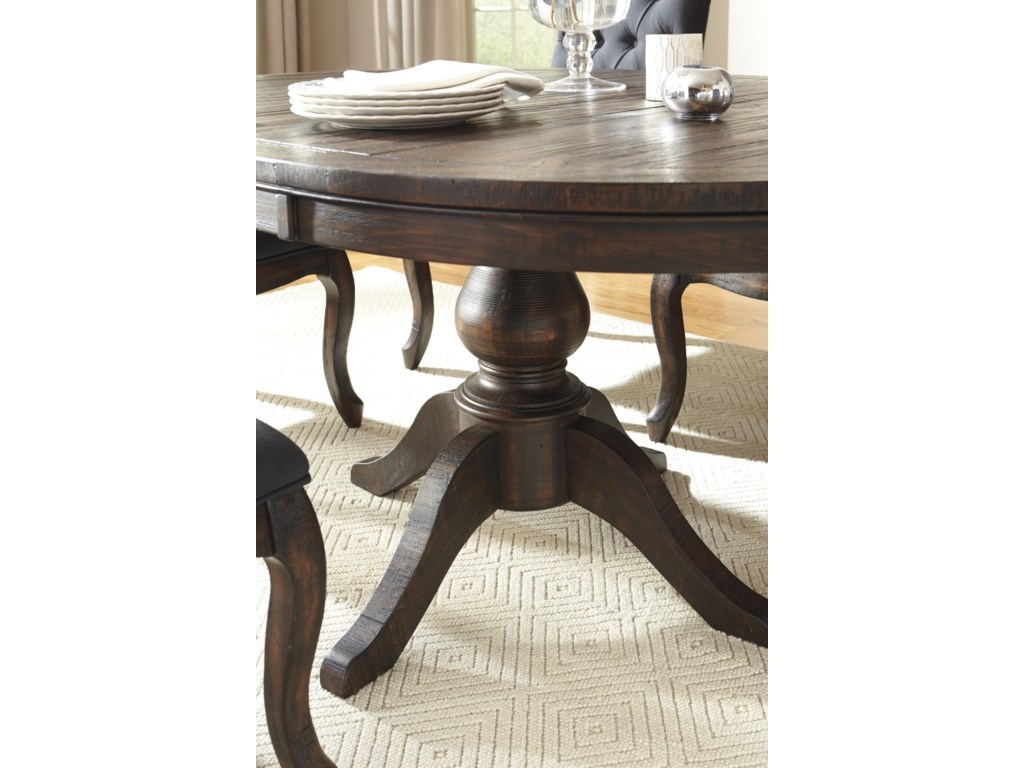 Ashley (Signature Design) Trudell7-Piece Oval Dining Table Set