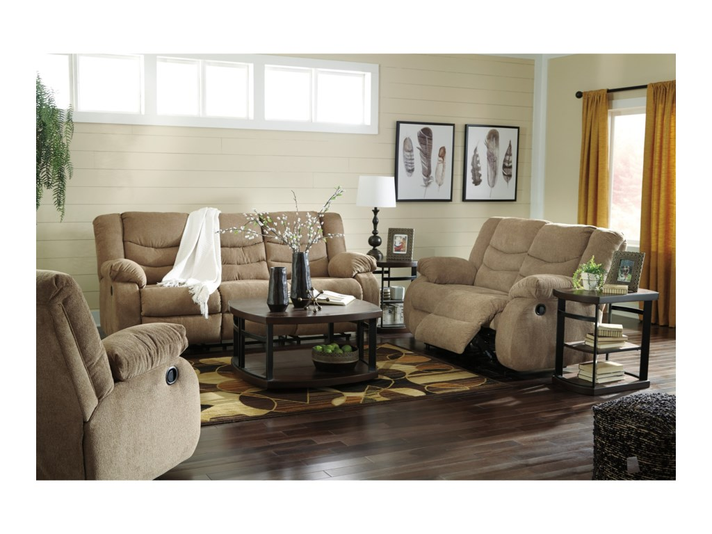 Signature Design by Ashley TulenReclining Living Room Group
