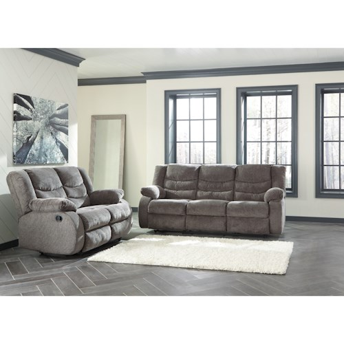Signature Design By Ashley Tulen Reclining Living Room Group