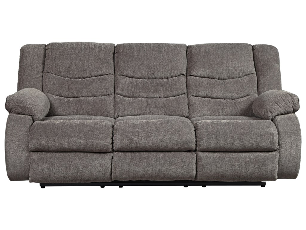 Signature Design by Ashley Tulen Contemporary Reclining Sofa ...