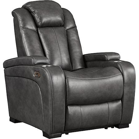 Power Recliner w/ Adjustable Headrest