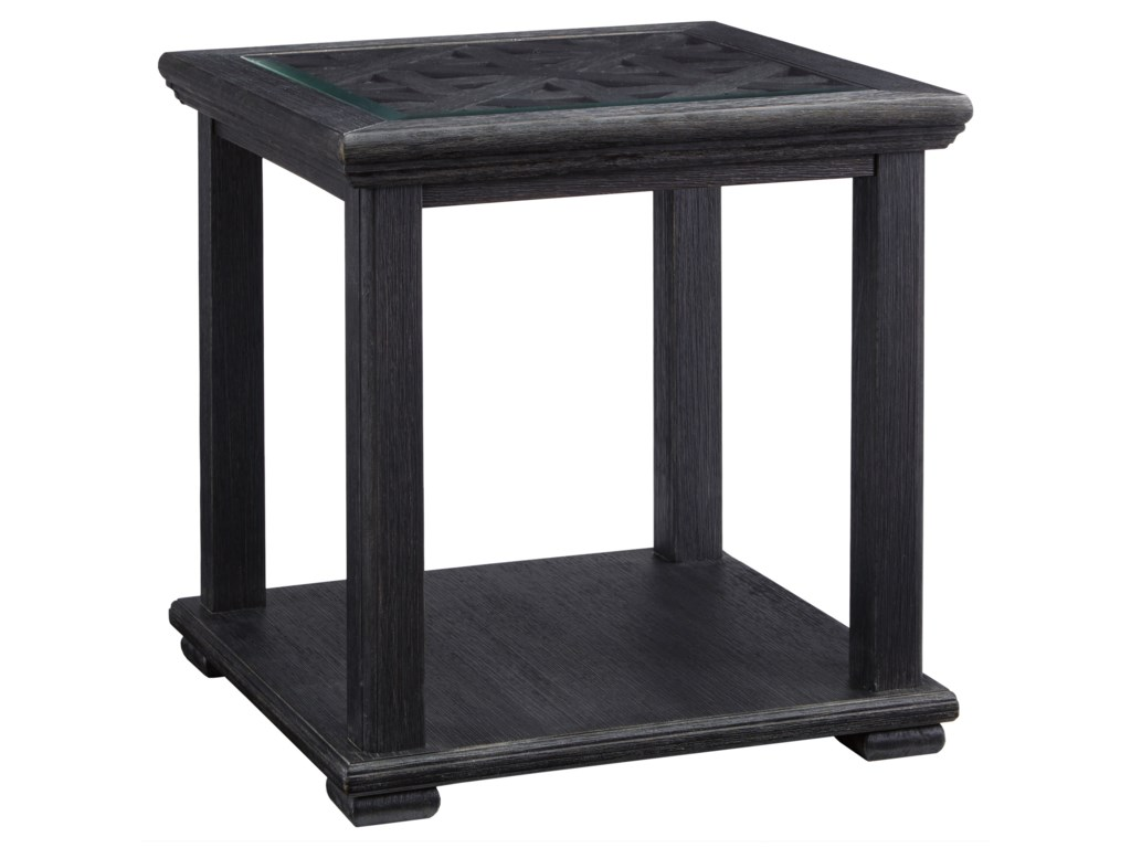 Signature Design by Ashley Tyler CreekSquare End Table
