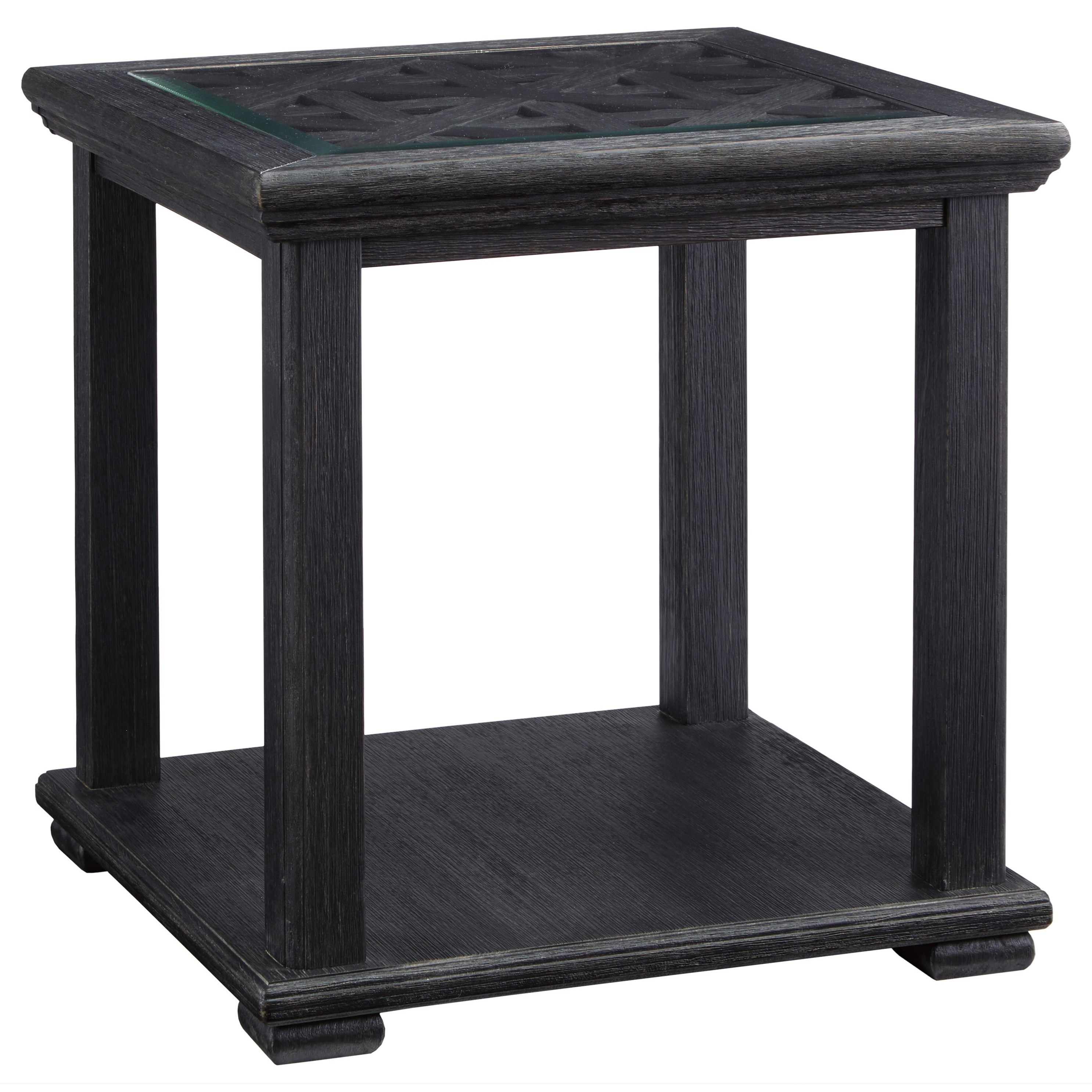 Superbe Signature Design By Ashley Tyler CreekSquare End Table ...