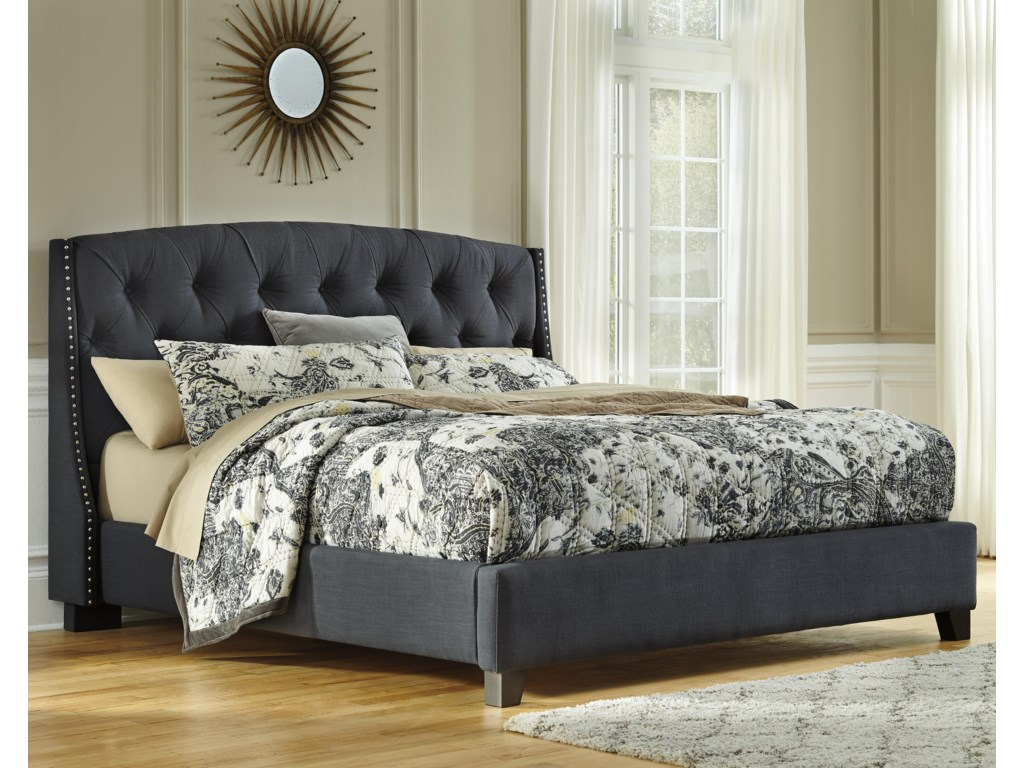 Ashley (Signature Design) KasidonQueen Upholstered Bed