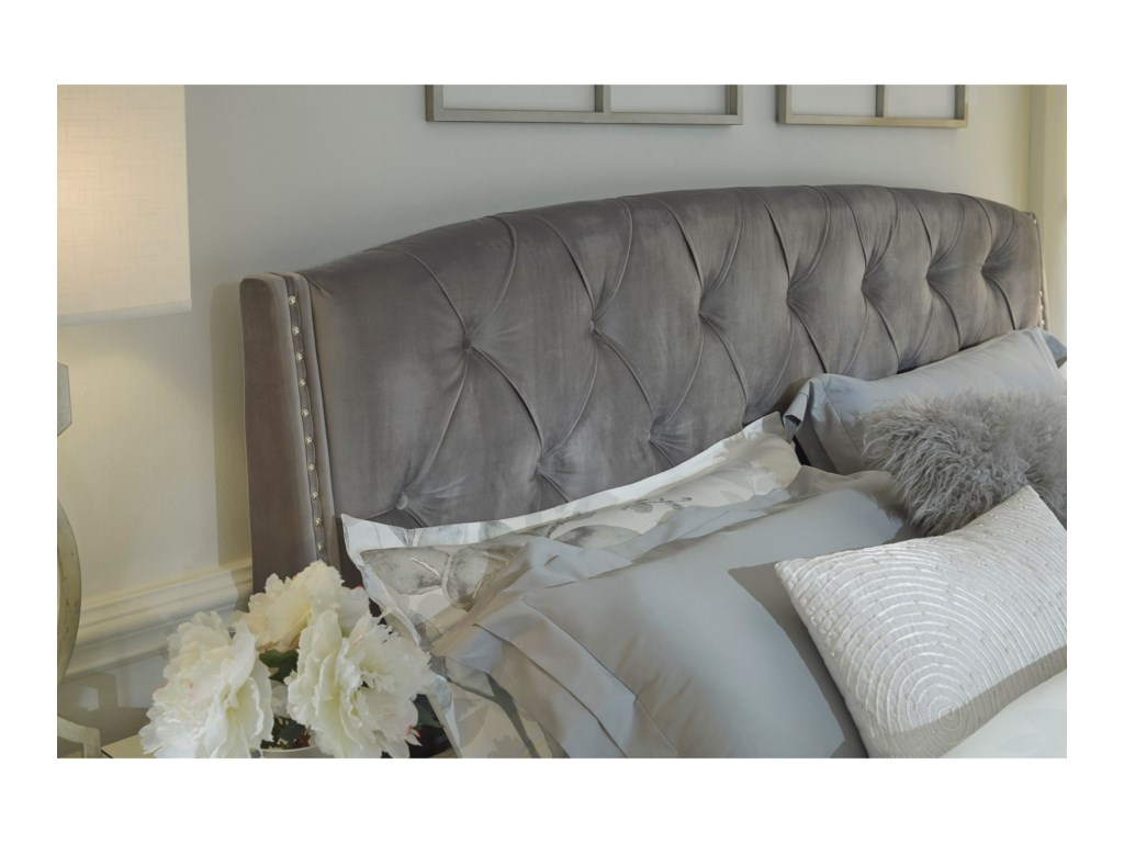 Signature Design by Ashley KasidonQueen Upholstered Bed