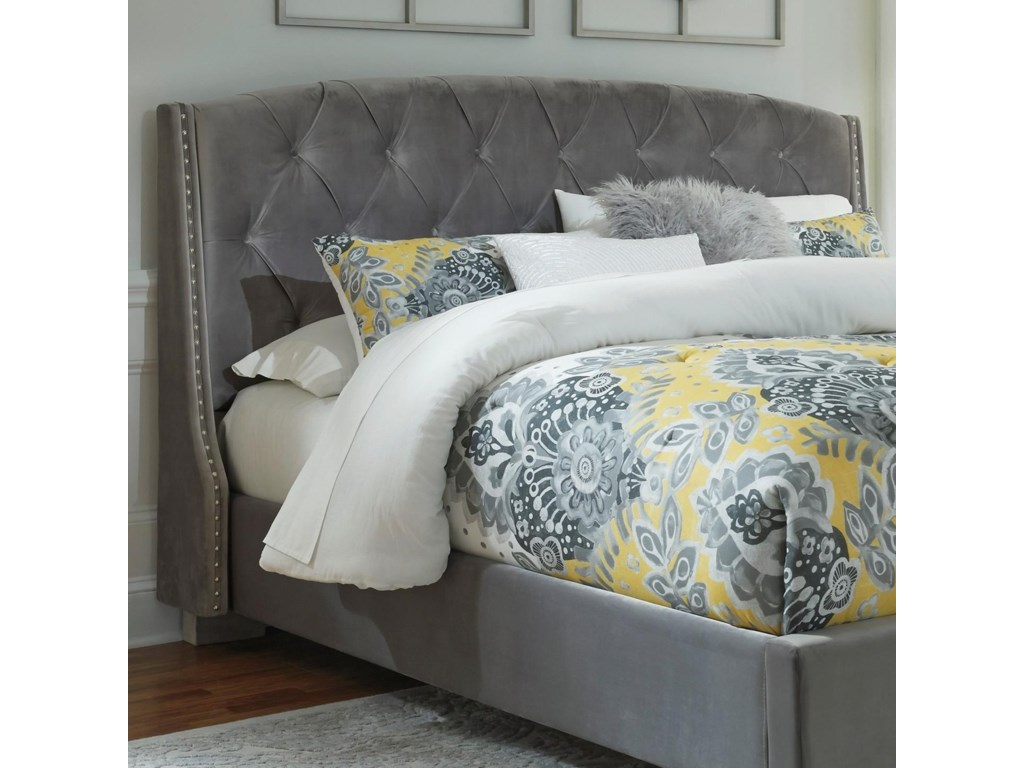 Signature Design By Ashley Kasidonqueen Upholstered Headboard