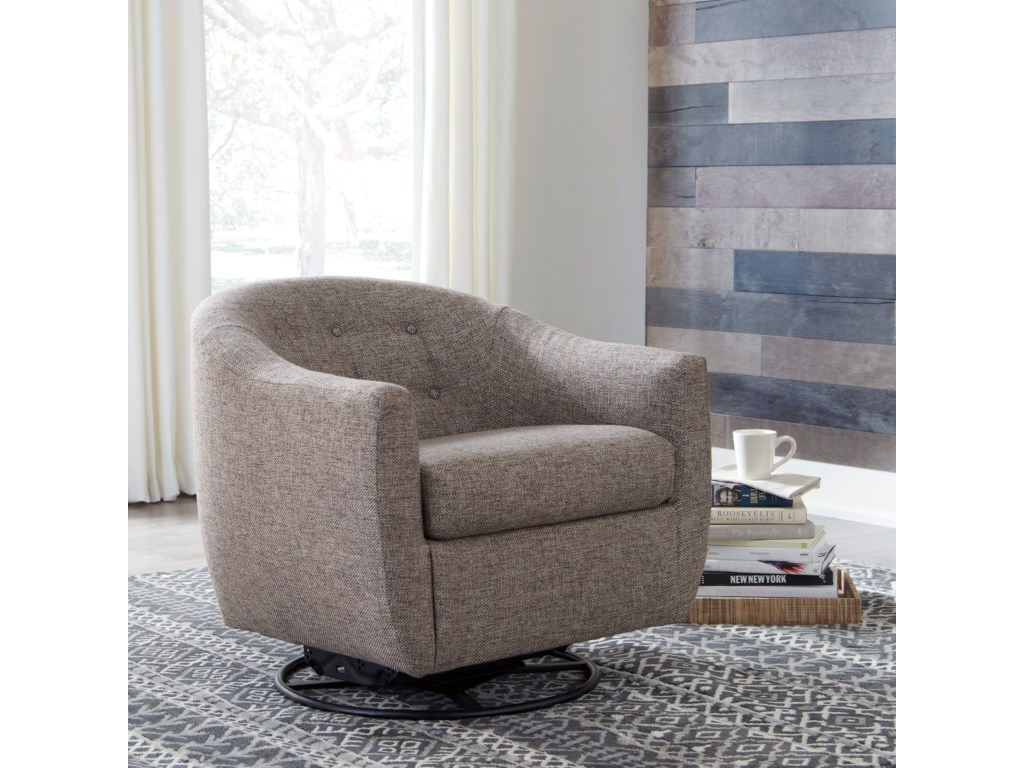 Signature Design by Ashley UpshurSwivel Glider Accent Chair