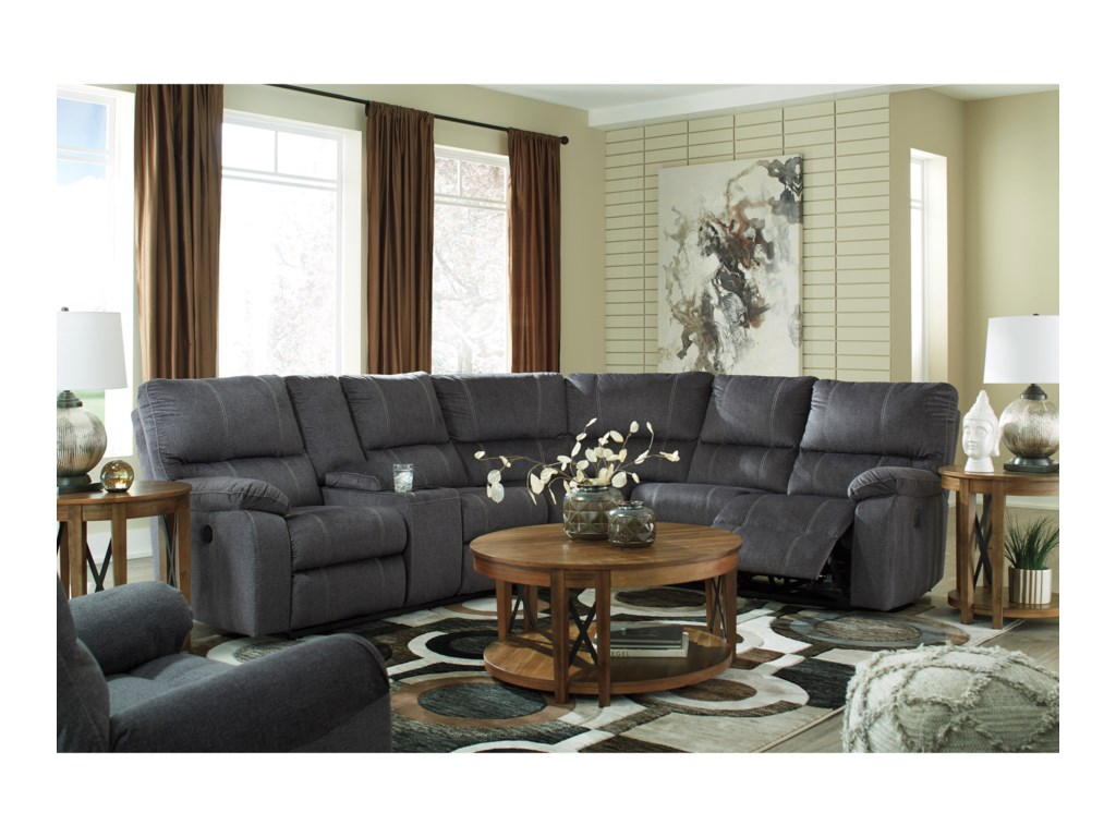 Signature Design by Ashley UrbinoReclining Living Room Group