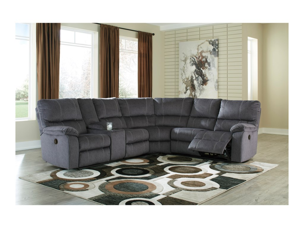 Signature Design by Ashley UrbinoReclining Sectional