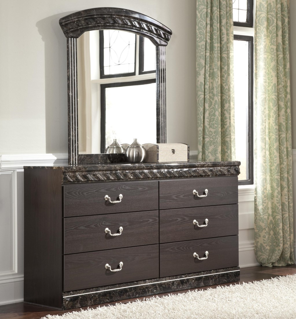 Signature Design By Ashley Vachel Traditional Dresser Bedroom