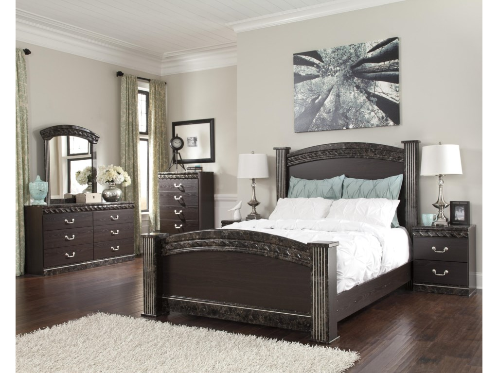 Signature Design by Ashley VachelQueen Poster Bed