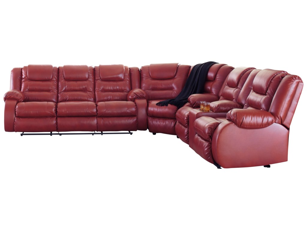 Vacherie Reclining Sectional Sofa