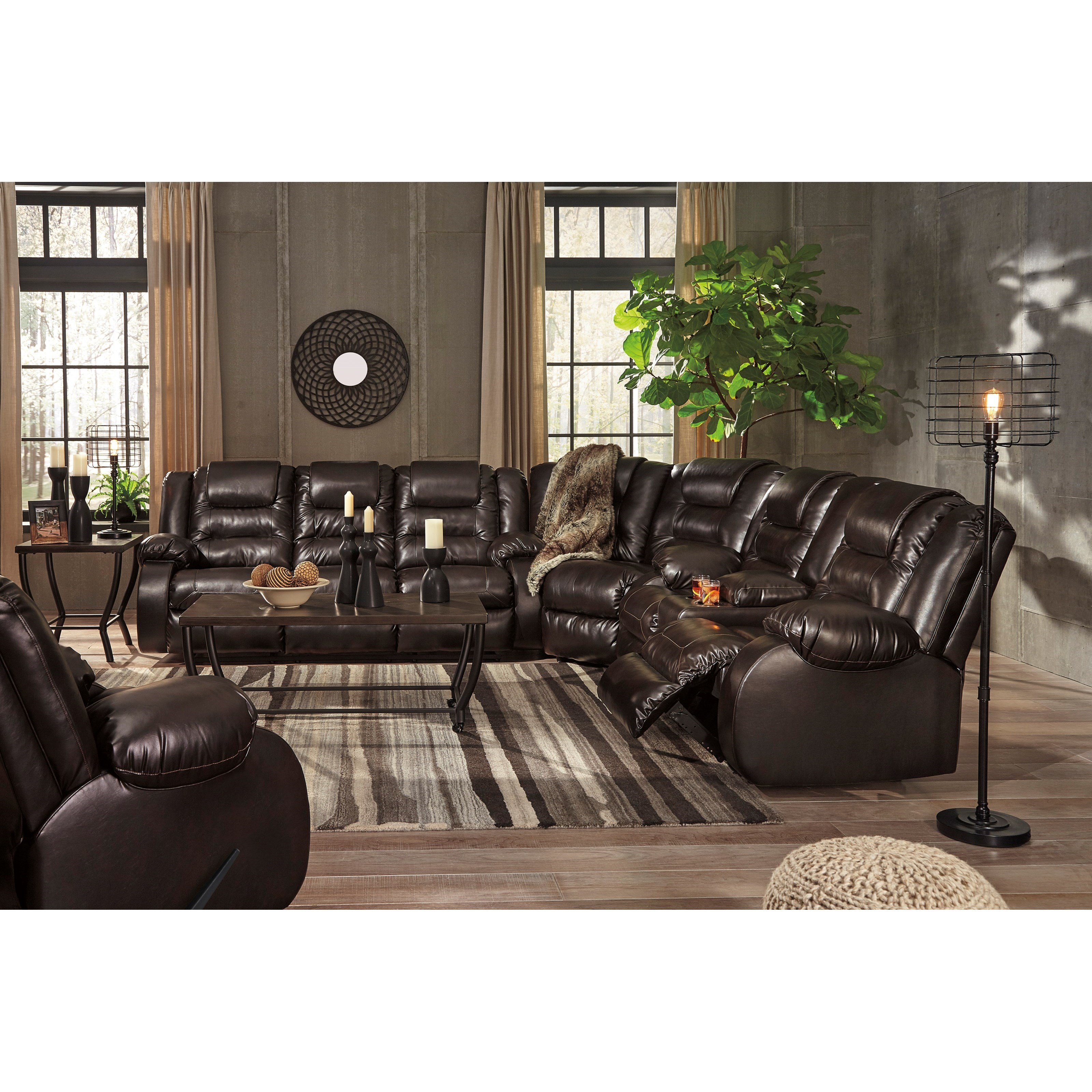 Signature Design By Ashley VacherieReclining Living Room Group ...